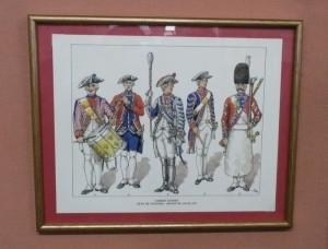 Uniformes des Gardes Suisses