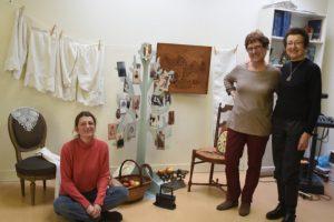 Les artistes : Geneviève, Françoise et Catherine